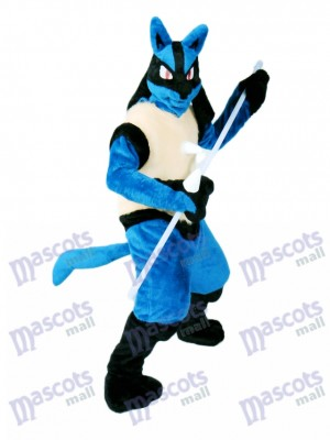 Japanese Cartoon Lucario Pokémon Pokemon Go Mascot Costume TYPE B