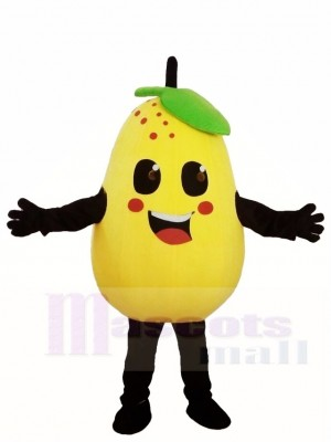 Yellow Pear Mascot Costumes Fruit