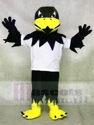White Shirt Sport Falcon Eagle Mascot Costumes Animal