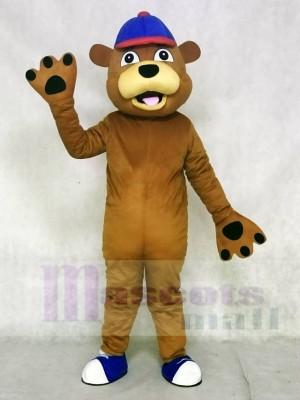 Happy Brown Bear Mascot Costumes Animal
