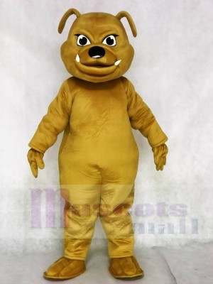 Brown Bulldog Animal Mascot Costumes