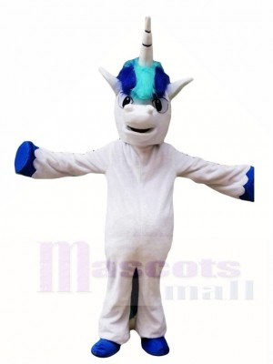 Blue Unicorn Mascot Costumes Animal