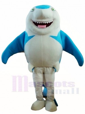 Blue Smile Shark Mascot Costumes Sea Fish Animal Ocean