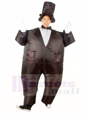 Magician Inflatable Halloween Xmas Costumes for Adults