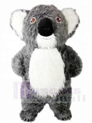 Grey Koala Bear Mascot Costumes Animal