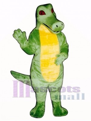Crocodile Mascot Costume Animal