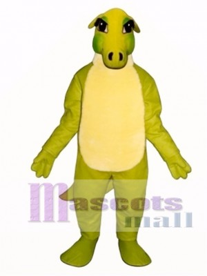 Friendly Dinosaur Mascot Costume Animal