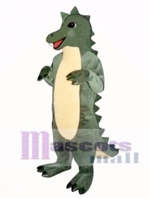 Marsh Dinosaur Mascot Costume Animal