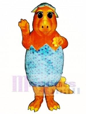 Hatching Baby-Saurus Mascot Costume Animal