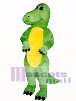 Dino Nerd Mascot Costume Animal