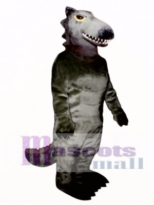 Black Dino Mascot Costume Animal
