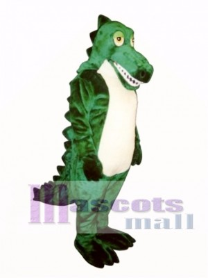Sleepy Crocodile Mascot Costume