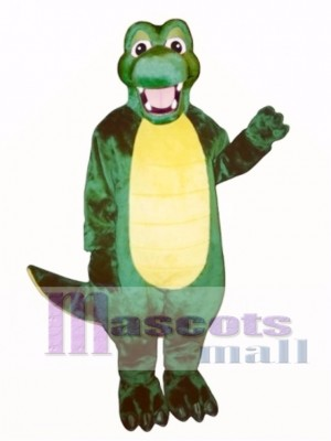 Happy Alligator Mascot Costume Animal