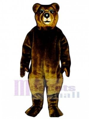 Mrs. Brown Bear Mascot Costume Animal