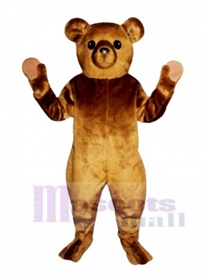 Old Fashioned Teddy Bear Christmas Mascot Costume Animal