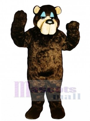 Cute Bramble Bear Mascot Costume Animal