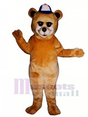 New Sunny Bear with Hat Mascot Costume Animal