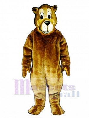 Cute Buster Bear Mascot Costume Animal