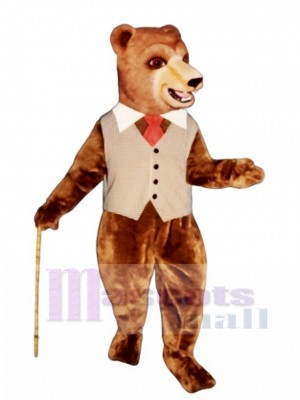 Barclay Bear Mascot Costume Animal