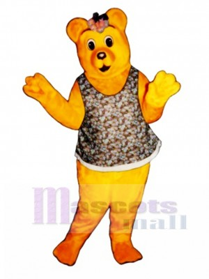 Little Girl Bear Mascot Costume Animal