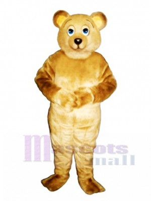 Lazy Bear Mascot Costume Animal