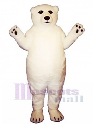 Fatty Polar Bear Mascot Costume Animal