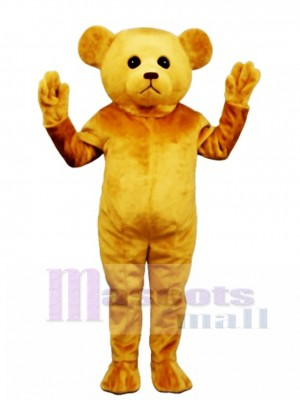 New Tan Teddy Bear Mascot Costume Animal