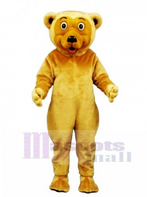 Cute Butch Bear Mascot Costume Animal