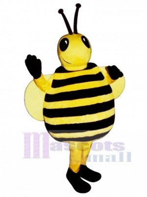Fat Drone Bee Mascot Costume Insect
