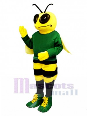 Billy Bee with Shirt & Shoes Mascot Costume Insect