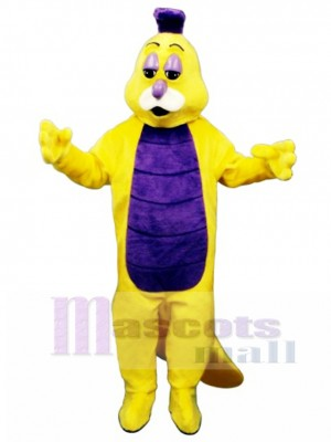Willy Worm Mascot Costume Insect