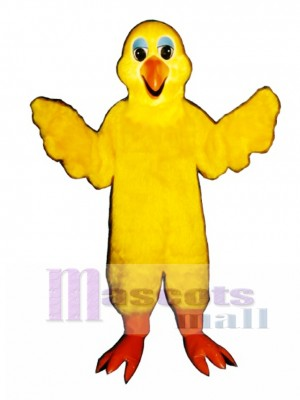 Cute Bird Feathers Mascot Costume Bird