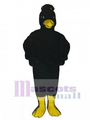 Cute Crow Mascot Costume Bird