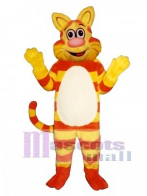 Cute Tabby Cat Mascot Costume Animal