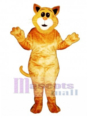 Cute Big Ear Cat Mascot Costume Animal