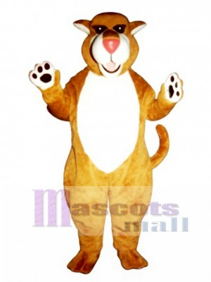 Cute Saber Tooth Cat Mascot Costume Animal