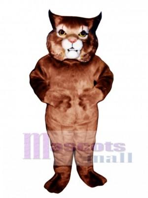 Cute Girl Wildcat Mascot Costume Animal