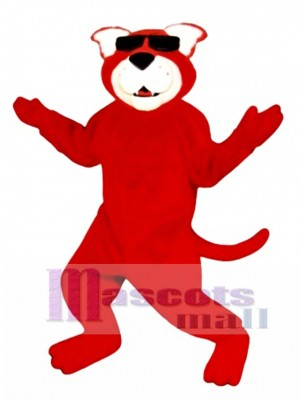 Cute Ready Red Cat Mascot Costume Animal