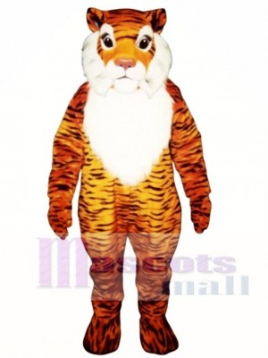 Cute George Tiger Mascot Costume Animal