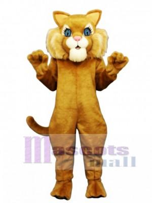 Cute Miss Boots Cat Mascot Costume Animal  Animal