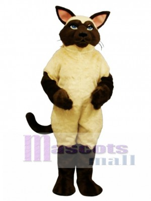 Cute Sally Siamese Cat Mascot Costume Animal