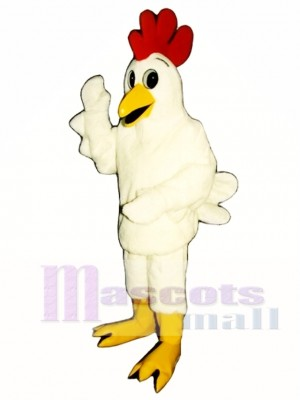 Cute Chicken Surprise Mascot Costume Poultry