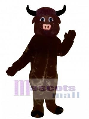 Happy Bull Mascot Costume Animal