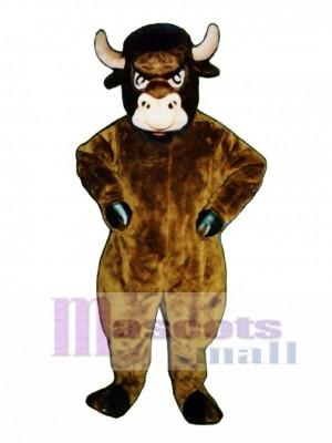 Cartoon Bull Mascot Costume Animal