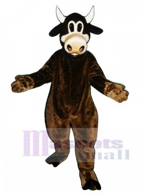Clover Cow Mascot Costume Animal