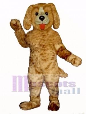 Cute Shaggy Dog Mascot Costume Animal