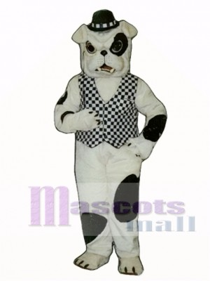 Cute English Bulldog Dog Mascot Costume Animal