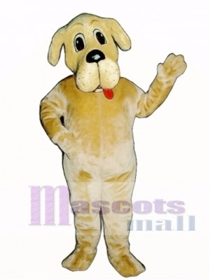 Cute Bernie Bernard Dog Mascot Costume Animal