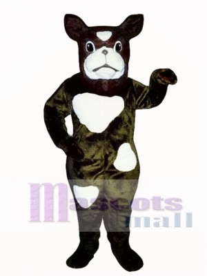 Cute Boxer Dog Mascot Costume Animal