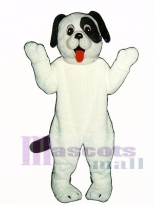 Cute White Puppy Dog Mascot Costume Animal
